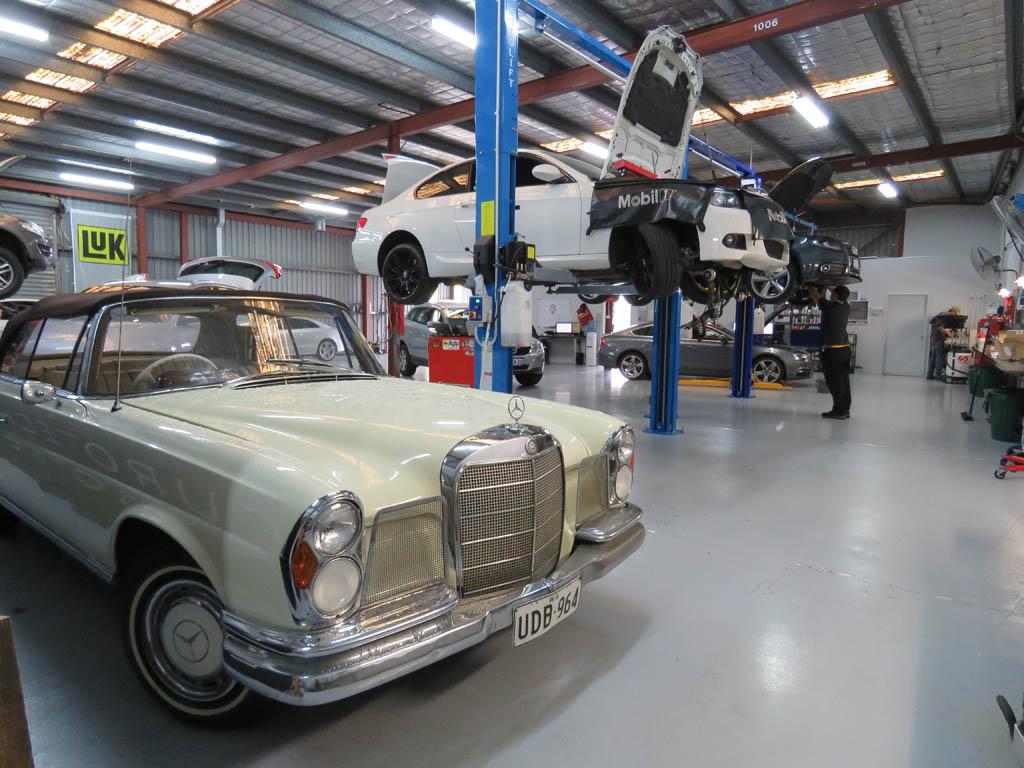 Classic and European Car Mechanic