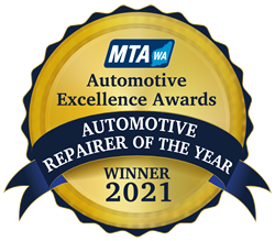 2021 Automotive repairer of the year